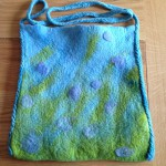 Wet Felting Workshop – How to Felt a Bag