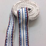Woven Organic Cotton Band 15 mm