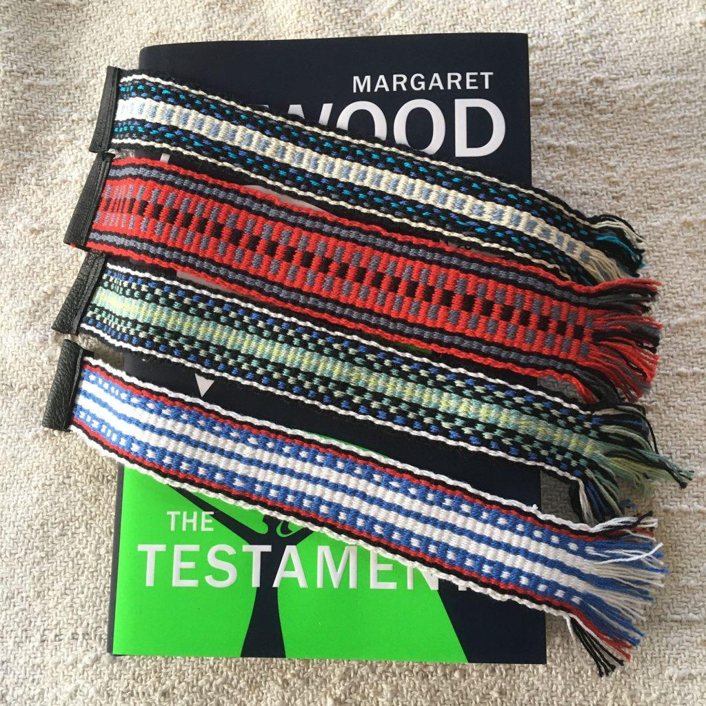 Handwoven Cotton Bookmarks