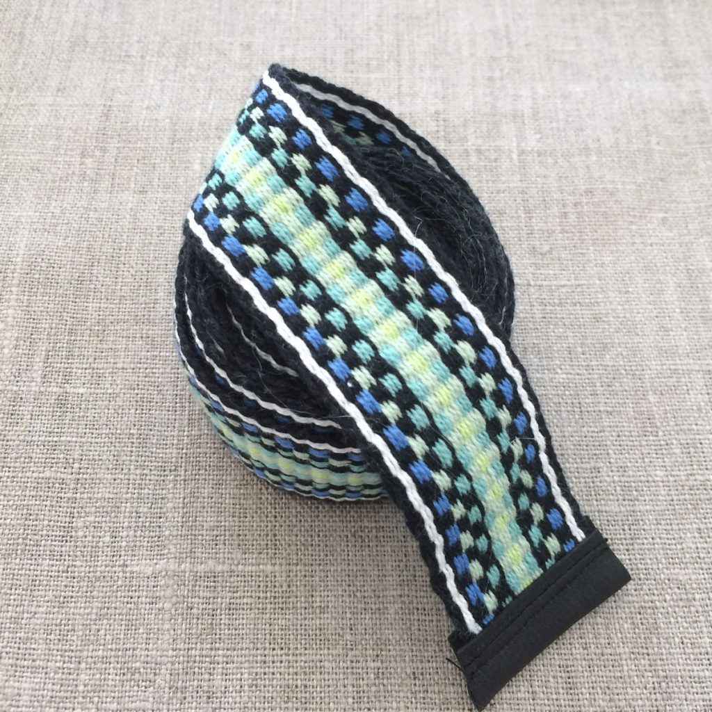 Handwoven Organic Cotton Sash Belt