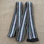 Hand Woven Organic Cotton Sash Belt