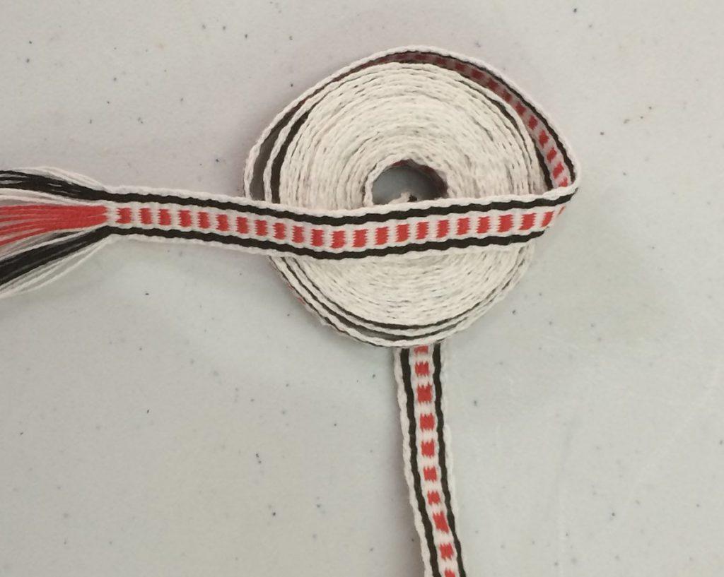 Woven Organic Cotton Band 1 cm