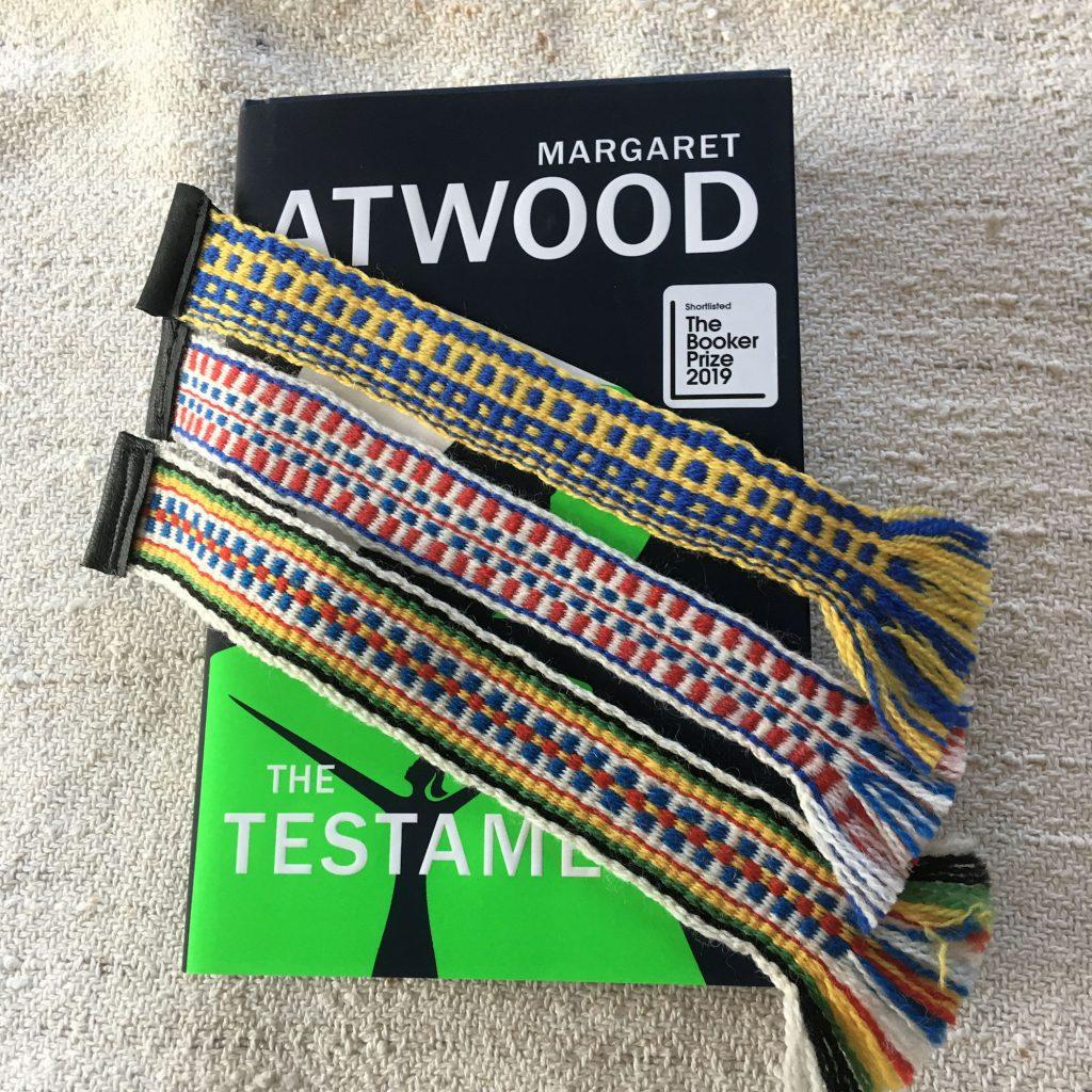 Hand woven Wool Bookmark