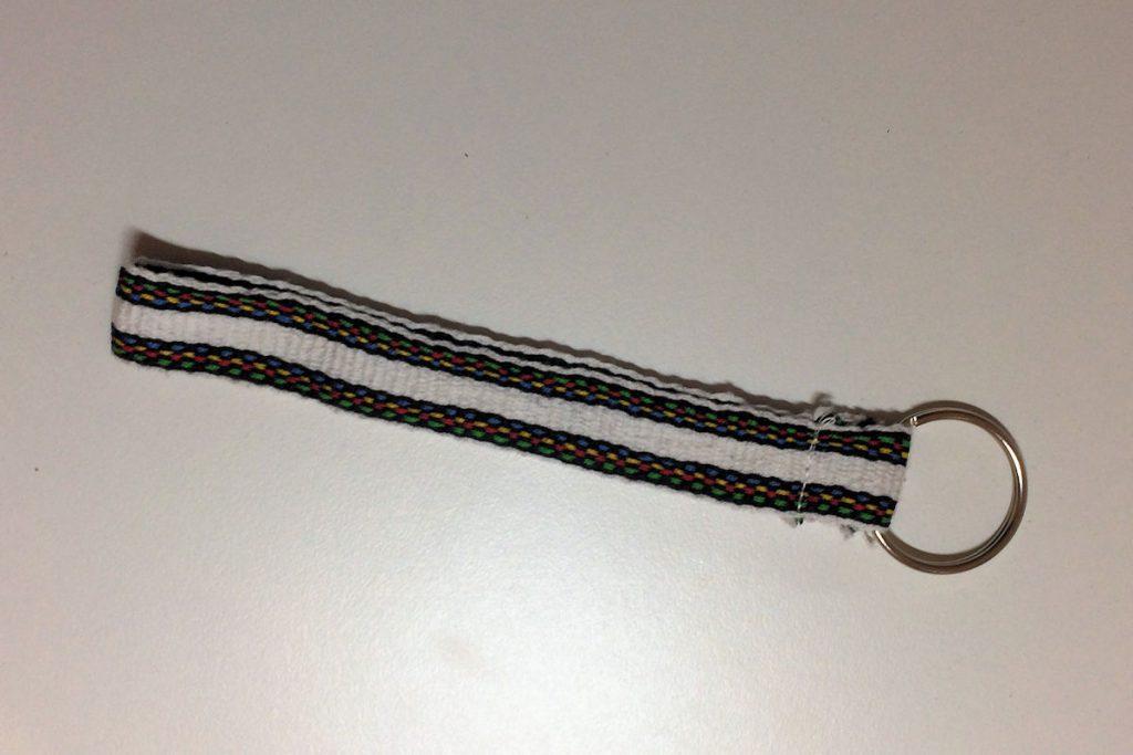 Hand Woven Key Fob Wristlet