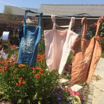 Flora Dyed Market Bags