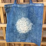 Shibori Indigo Market Bag