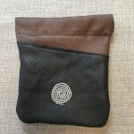Reindeer Leather Pouch - Spiral