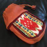 Saami Reindeer Leather Coffee Bag