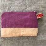 Purple Reindeer Leather Clutch Purse