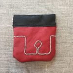 Reindeer Leather Coin Pouch