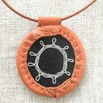 Reindeer Leather Aroma Therapy Necklace