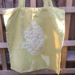 Cardoon Natural Dyed Tote Bag