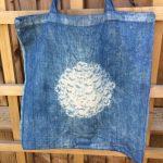 Indigo Cotton Tote Bag