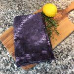 Logwood Dyed Sack Cloth Towel
