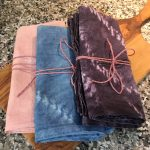 Natural Dyed Cotton Sack Cloth Towels