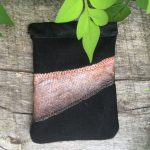 SeaBass Fish Leather Pouch