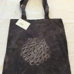 Plant Dyed Logwood Cotton Tote Bag