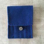 Blue Vadmal Nalbinding Needle Case