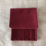 Red Nalbinding Needle Case