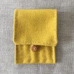 Yellow Wool Vadmal Nalbandning Needle Case