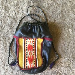 Sami Reindeer Leather Coffee Bag