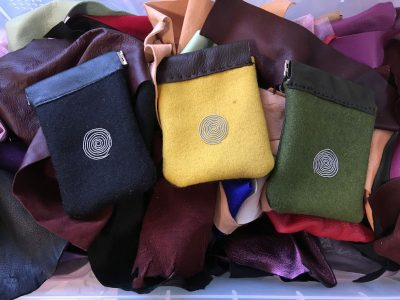 Reindeer Leather Coin Purses