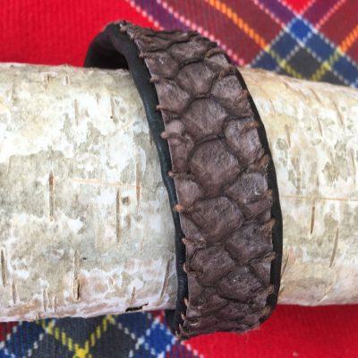 Carp Fish Leather Bracelet