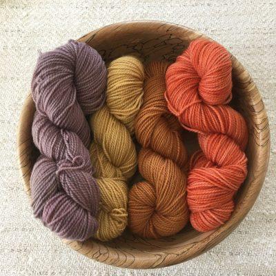 4 Ply Plant Dyed SW Sock Yarn