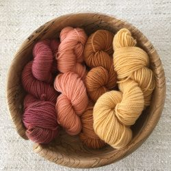 4 Ply Plant Dyed SW Sock Yarn