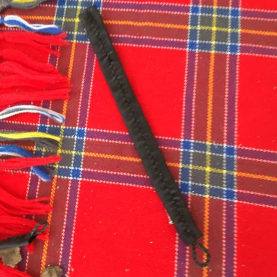 Perch Fish Leather Bracelet