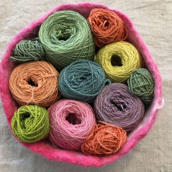 Plant Dyed Yarns