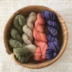 Plant Dyed Sock Yarn