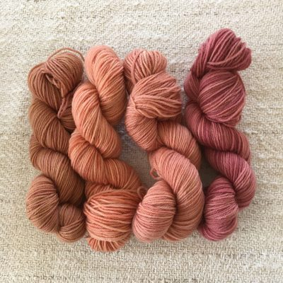 Plant Dyed Sock Yarn