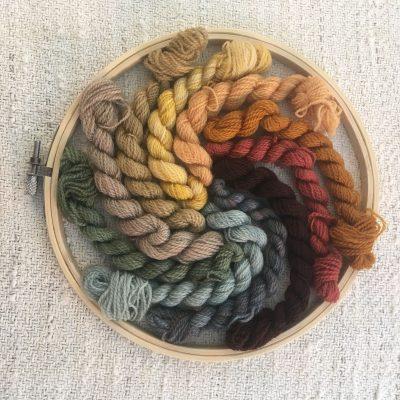 Crewel Yarn Kit 20-66b
