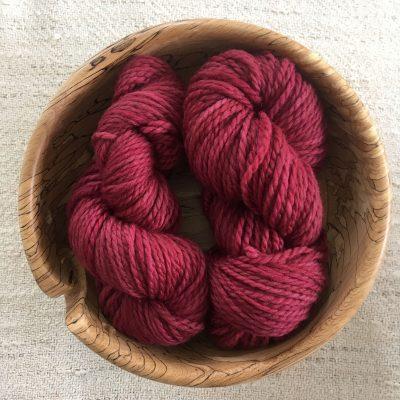 Aran BFL Wool yarn Brazilwood