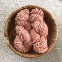 BFL Aran Wool Madder