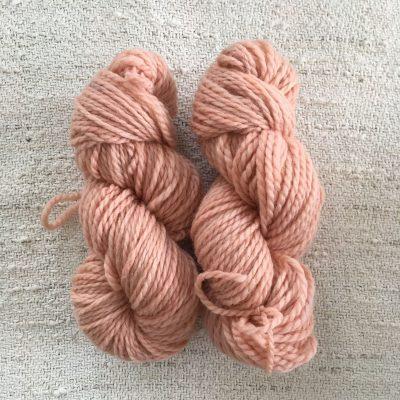 BFL Aran Wool Yarn Madder