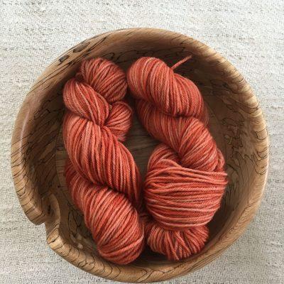 BFL DK Wool Yarn Madder