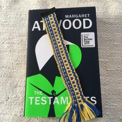 Handwoven Wool Bookmark
