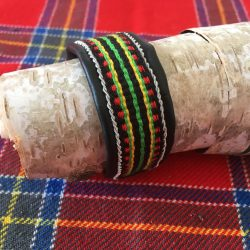 Sami Reindeer Leather Cuff Bracelet