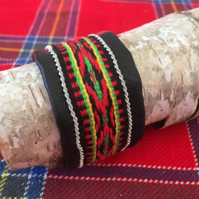 Sami Reindeer Leather Arm Cuff