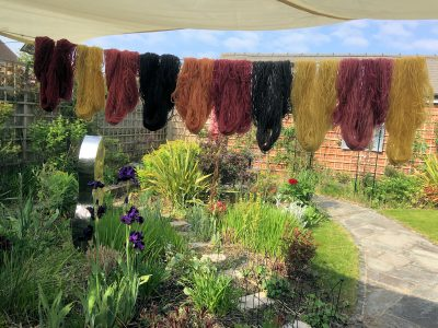 Plant Dyed Tapestry Wool