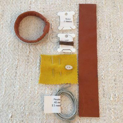 Sami Reindeer Leather Bracelet Kit