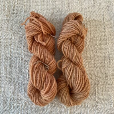 ORANGE - DK Organic Merino wool