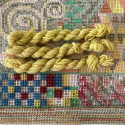 Yellow - Plant Dyed Tapestry Wool
