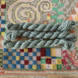 Green - Plant Dyed Tapestry Wool