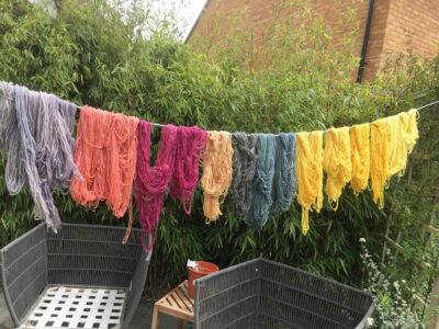 Plant Dyed Merino Wool