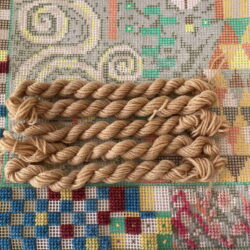 Tan - Plant Dyed Tapestry Wool