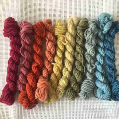 Plant Dyed Tapestry Wool Kit