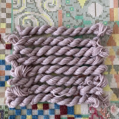 Violet - Plant Dyed Tapestry Wool
